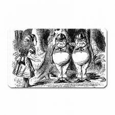 Buy Alice In Wonderland Meets Tweedle Dee Dum Art Vinyl Fridge Magnet