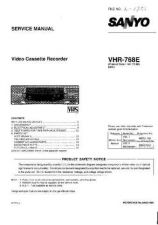 Buy Fisher. Service Manual For VHR-768E by download Mauritron #217595
