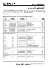 Buy Sharp CDDV757W Part 2 Technical Information by download Mauritron #232765
