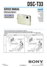 Buy Sony DSC-T33[2] Service Manual by download Mauritron #244202