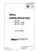 Buy NIKON Coolpix 2100 Repair Manual by download Mauritron #265855