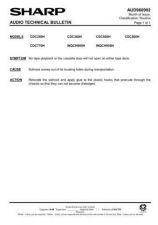 Buy Sharp. WQCH900H-006 Service Manual by download Mauritron #211884