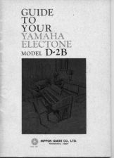Buy Yamaha D2BE 1 Operating Guide by download Mauritron #247333