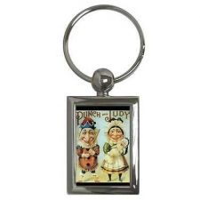 Buy Punch and Judy Vintage Puppet Art Key Chain Keychain