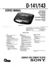 Buy Sony D-137CR Service Manual by download Mauritron #239382