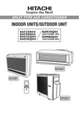 Buy Hitachi RAS-RAC18CE(RAS-RAC-24CE) Service Manual by download Mauritron #264070