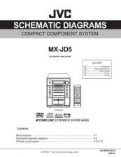 Buy JVC MX-JD5UM sch Service Manual Schematic Circuit. by download Mauritron #271984