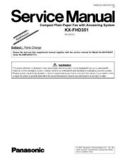 Buy Panasonic -LX95GCS Service Manual by download Mauritron #267538