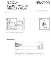 Buy KENWOOD SW-15HT 15HTW 15HTS Technical Information by download #118842