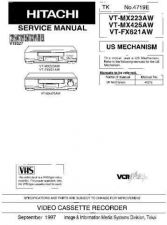 Buy Hitachi VT89A Service Manual by download Mauritron #265291
