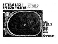 Buy Yamaha NS-225F E KAI1 Operating Guide by download Mauritron #248956