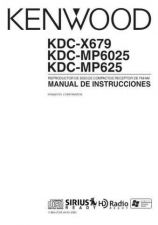 Buy Kenwood KDC-X689 Operating Guide by download Mauritron #219113