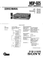 Buy Sony MDP-750 Service Manual. by download Mauritron #242442