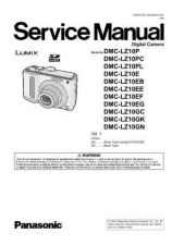 Buy Panasonic DMC-LZ8PL Service Manual with Schematics by download Mauritron #266946