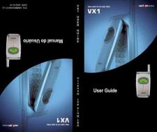 Buy LG VX1 MOBILE PHONE OPERATING GUIDE Manual by download Mauritron #230152