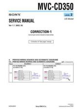 Buy Sony MVC-CD350-5 Service Manual. by download Mauritron #242988