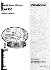 Buy Panasonic RXES30 Operating Instruction Book by download Mauritron #236368
