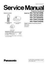 Buy Panasonic KX-TG7322NES KX-TGA731EXS by download Mauritron #267436