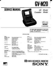 Buy Sony GVM-1310 Service Manual by download Mauritron #240839