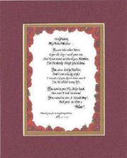 Buy Personalized Poem for Mother-In-Law from Daughter - [To Grace,] My Other Mother
