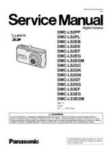 Buy Panasonic DMC-LX2PP Service Manual with Schematics by download Mauritron #266891