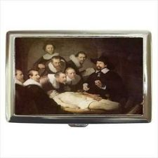 Buy Anatomy Lesson Rembrandt Art Cigarette Money Credit Card Case