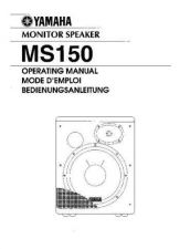 Buy Yamaha MS150E Operating Guide by download Mauritron #248823