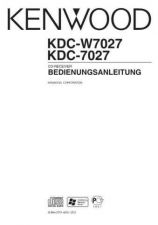 Buy Kenwood KDC-W7027 by download Mauritron #222296