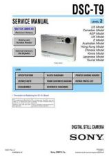 Buy Sony DSC-T9-2 Service Manual by download Mauritron #231937