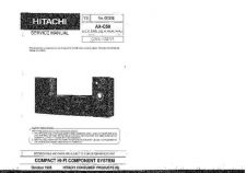 Buy Hitachi AXC50 Service Manual by download Mauritron #207258