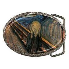 Buy The Scream Edvard Munch Art Unisex Belt Buckle