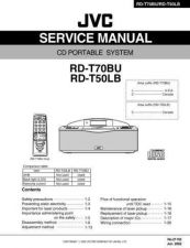 Buy JVC RD-T70BU Service Manual Schematic Circuit. by download Mauritron #272174