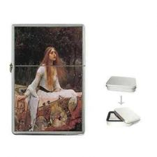 Buy The Lady of Shalott Waterhouse Art Cigarette Flip Top Lighter