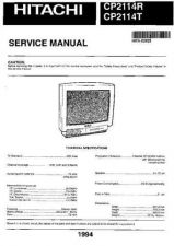Buy Sony CP1422T-TS Service Manual by download Mauritron #239231