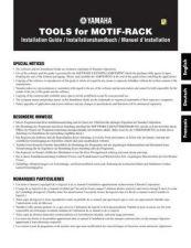 Buy Yamaha MOTIFRACKE3 Operating Guide by download Mauritron #248786