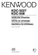 Buy Kenwood KDC-506 Operating Guide by download Mauritron #221755