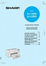 Buy Sharp AJ-1800 Service Manual by download Mauritron #230857