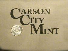 Buy CARSON CITY MINT / BANK BAG, Great Novelty Item, HISTORIC Keep-Sake, REAL $$
