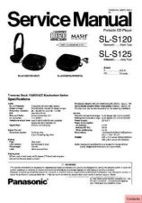 Buy Panasonic sl_s231c_p_pc Service Manual by download Mauritron #268843