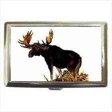 Buy Bull Moose Cigarette Money Credit Business Card Case Wallet