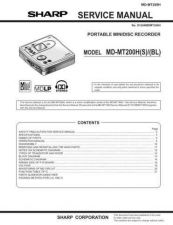Buy Sharp MDMT20-C-W Service Manual by download Mauritron #210042