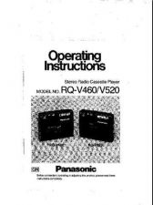 Buy Panasonic RQV460 Operating Instruction Book by download Mauritron #236334