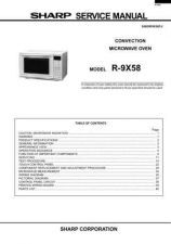 Buy Sharp R9X58S Convection+Microwave by download Mauritron #230802