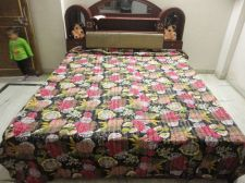Buy Indian hand made cotton kantha quilt rally king size bed cover gudari bedspread