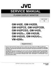 Buy JVC GM-V42PCEG by download Mauritron #270503