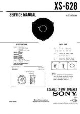 Buy Sony XS-628 Service Manual. by download Mauritron #246307