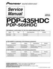 Buy Pioneer PDP434PU by download Mauritron #234988