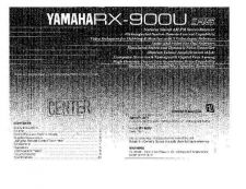 Buy Yamaha RX-V863 U Operating Guide by download Mauritron #249838