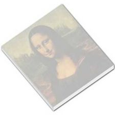 Buy Mona Lisa Leonardo Da Vinci 50 Sheet Mini Paper Memo Pad