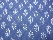 Buy INDIAN HAND MADE BLOCK PRINT PURE COTTON DABU PRINT INDIGO PRINT NATURAL FABRIC